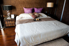 Double bedroom Stock Photos