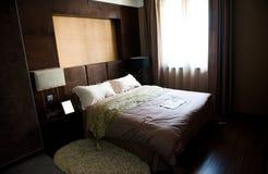 Double bedroom Stock Photo
