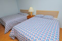 Double beds Royalty Free Stock Photos