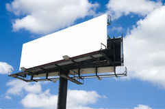 Double Billboard Royalty Free Stock Photography