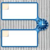 Double boîte Photo stock