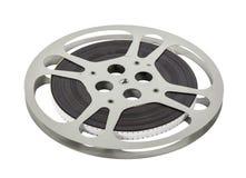Double bobine de film du pignon 16mm de vintage Image libre de droits