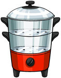 Double boiler Stock Photos