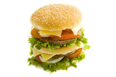 Free Double Burger Stock Photo - 14799000