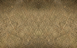 Double burlap weave detail Royalty Free Stock Images