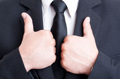 Double business like concept Stock Image