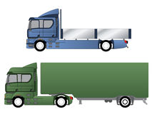 Double cab trucks with various chassis Stock Photo