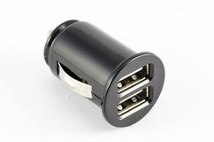 Double car charger Stock Photography