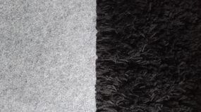 Double carpet grey black. Grey black double carpet texture background Royalty Free Stock Photos