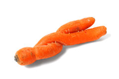 Double Carrot Stock Photos