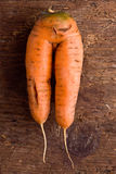 Double carrot Stock Photo