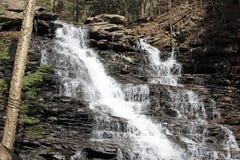 Double cascade Photographie stock libre de droits