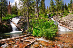 Double Cascades in the Americna Wesy Royalty Free Stock Photos