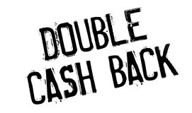 Double Cash Back rubber stamp Royalty Free Stock Photography