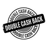 Double Cash Back rubber stamp Royalty Free Stock Image