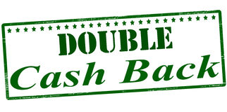 Double cash back Stock Photography
