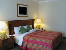 Double chambre à coucher de personne Images libres de droits