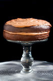 Double chocolate cake Royalty Free Stock Images