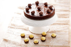 Double chocolate cheesecake Royalty Free Stock Photo