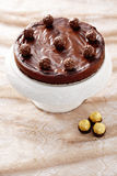 Double chocolate cheesecake Royalty Free Stock Photography