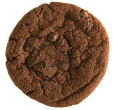 Double chocolate chip  cookie Royalty Free Stock Image