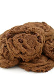 Double chocolate cookies Stock Photography