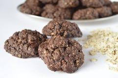 Double chocolate cookies Stock Photography