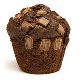 Double Chocolate Muffin Royalty Free Stock Images