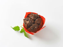 Double chocolate muffin Royalty Free Stock Photography