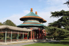 Double-Circle Longevity Pavilion Royalty Free Stock Image