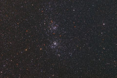 Double Cluster royalty free stock photo