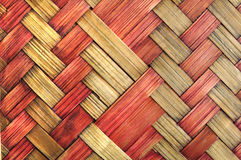 Double color wicker surface Royalty Free Stock Images