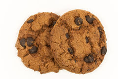 Double cookie Royalty Free Stock Photo