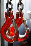 Double Crane Hook Royalty Free Stock Images