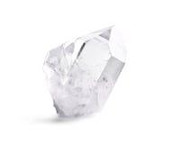 Double cristal de quartz Photos libres de droits