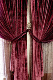 Double curtain Stock Photo