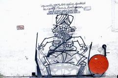 """ """"Double de Role†d'art de rue de Penang photo libre de droits"""