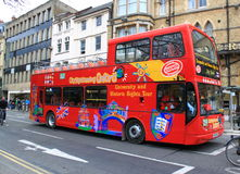 Double Deck Bus. In Oxford, UK Royalty Free Stock Photos