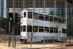 Double-deck bus Royalty Free Stock Photography