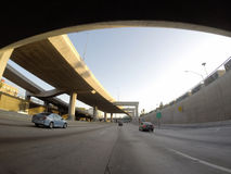 Double Deck Freeway Los Angeles Stock Photography