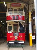 Vintage Double Deck Tram Royalty Free Stock Photo