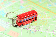Double decker bus Stock Photography