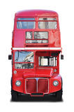 Double decker bus royalty free stock photo