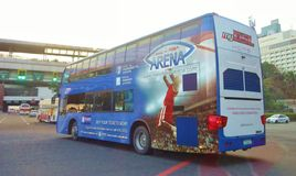 Double Decker Bus Photos stock