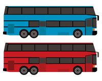 Double-decker bus Royalty Free Illustration