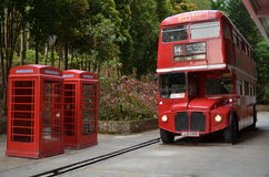 Double-decker bus Or London Bus Stock Images