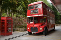 Double-decker bus Or London Bus Royalty Free Stock Image
