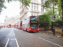 Double decker bus Stock Photo