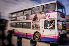 Double decker bus Stock Photography