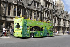 Double decker  in Oxford. UK Stock Photography